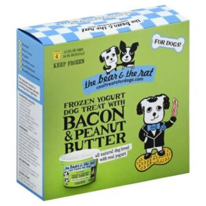 The Bear And The Rat frozen dog treat